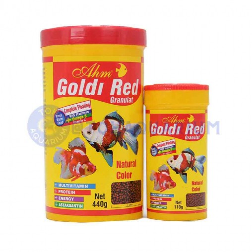 AHM Goldi Red Granulat (Options Available)