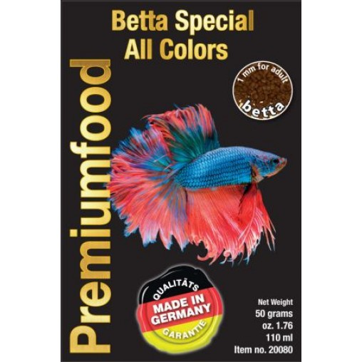 Discus Food Betta Special All Colours Soft 50g