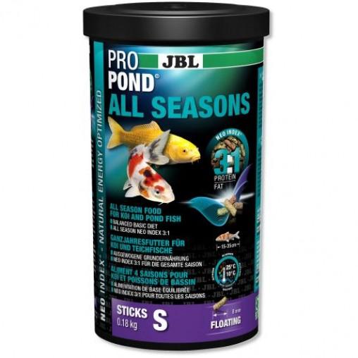 JBL Pro Pond All Seasons Food Sticks 0.18Kg