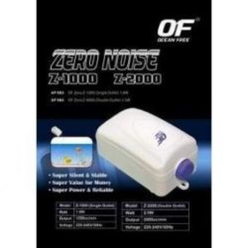 Ocean Free Zero Noise Air Pump (Options Available)