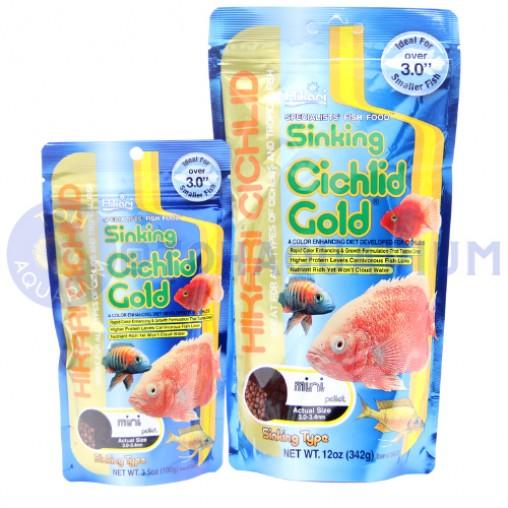 Hikari Sinking Cichlid Gold Mini Pellet (Options Available)