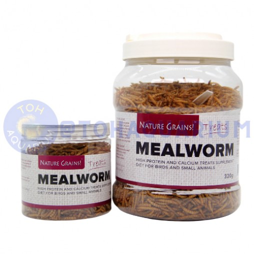 Nature Grains Mealworm (Options Available)