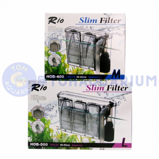 Rio Slim filter HOB Series (Options Available)