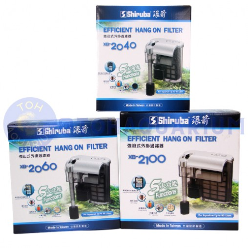 Shiruba Hang On Filter Series (Options Available)