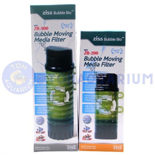 Ziss Bubble Moving Media Filter (Options Available)