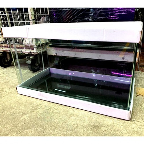 2ft fish tank 60x30x36cm Front Round Edge