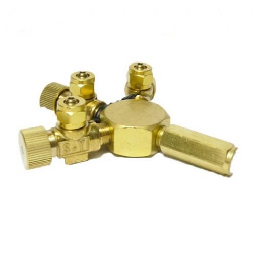 ANS Brass Co2 3 Way Divider