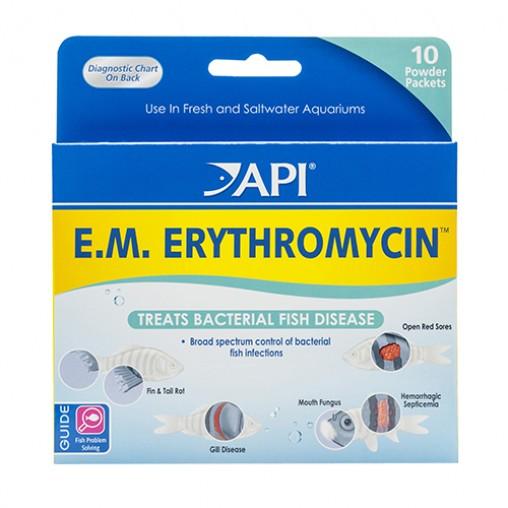 API E.M. Erythromycin Powder Pax