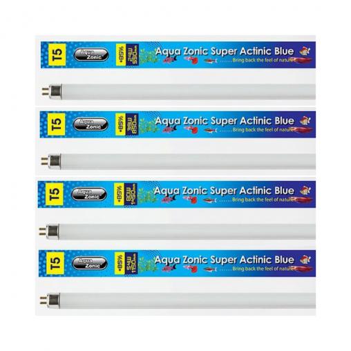 Aqua Zonic T5 Super Actinic Blue Light Tube (Options Available)