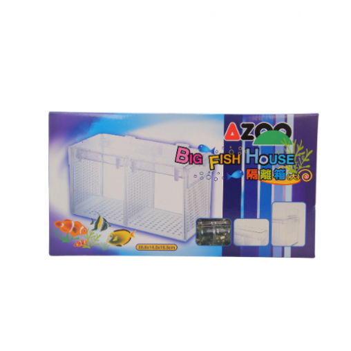 Azoo Big Fish House Size L 30.8 X 14.5 X 16.5CM