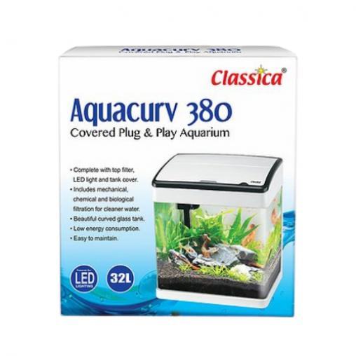 Classica Aquacurv 380 White