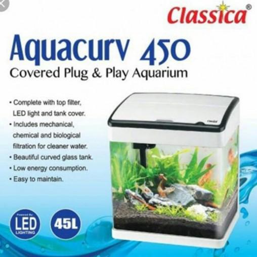 Classica Aquacurv 450 White