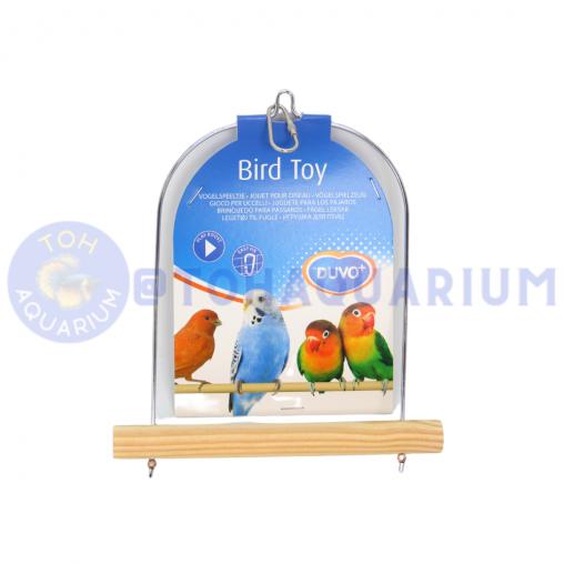 DUVO Wooden Bird Swing