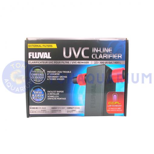Fluval UVC In-Line Clarifier 3w