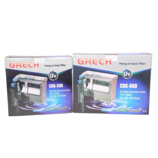 Grech Hang On Filter w UV Series (Options Available)