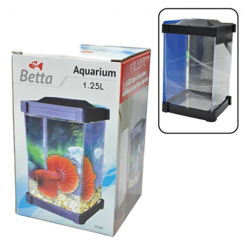Guppy Betta Aquarium 1.25L