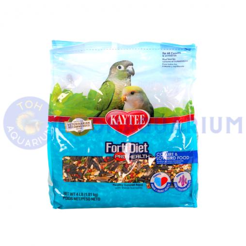 Kaytee Forti-Diet Pro Health Conure and Lovebird food 1.81kg