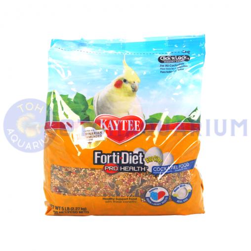 Kaytee Forti-Diet Pro Health Egg-Cite Cockatiel food 2.27kg