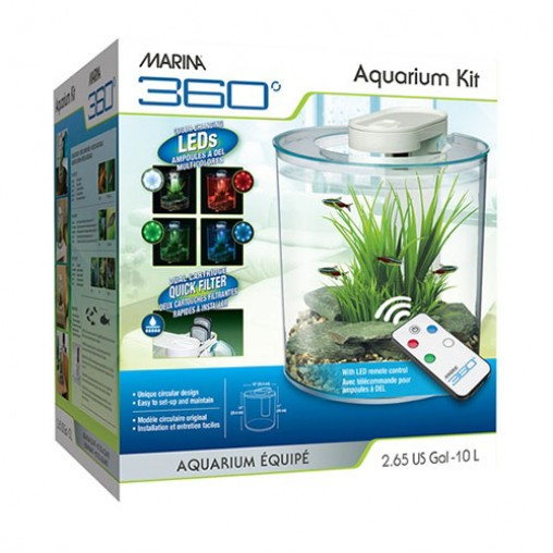 Marina 360 Aquarium Kit 10L