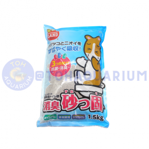 Marukan Deodorant Sand 1.5kg Anti Bacteria/Odor control/Anti stick