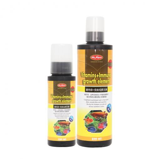 Mr Aqua Vitamins+Immune Growth Element (Options Available)