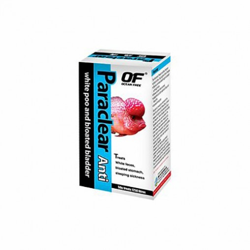 Ocean Free Paraclear Anti White Poo And Bloated Bladder 50g
