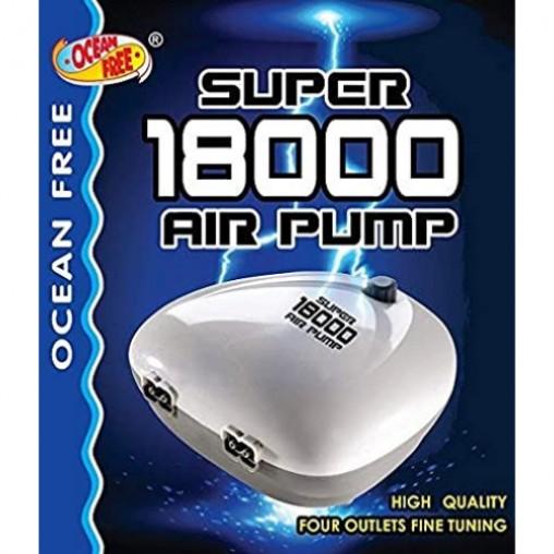 Ocean Free Super Precision Airpump 18000 4 head