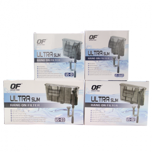 Ocean Free Ultra Slim Hang On Filter Series (Options Available)