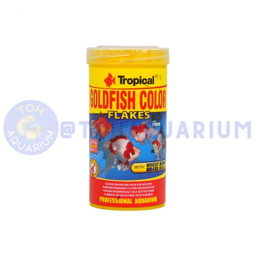 Tropical Goldfish Flakes Colour 50g/250ml