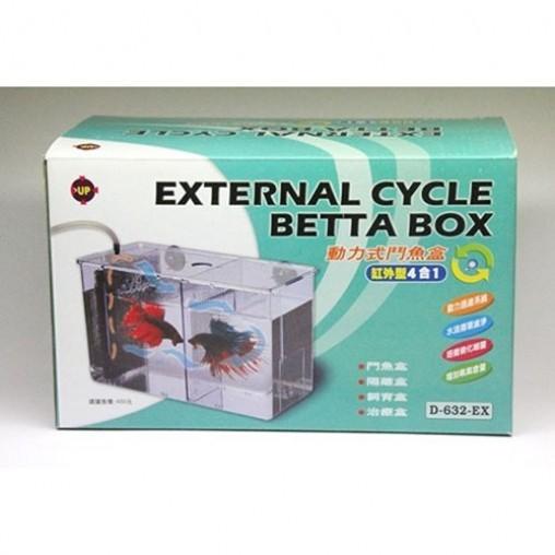 UP D-632-EX External Cycle Betta Box Green