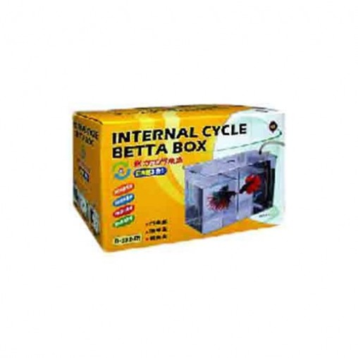 UP D-632-IN Internal Cycle Betta Box Yellow