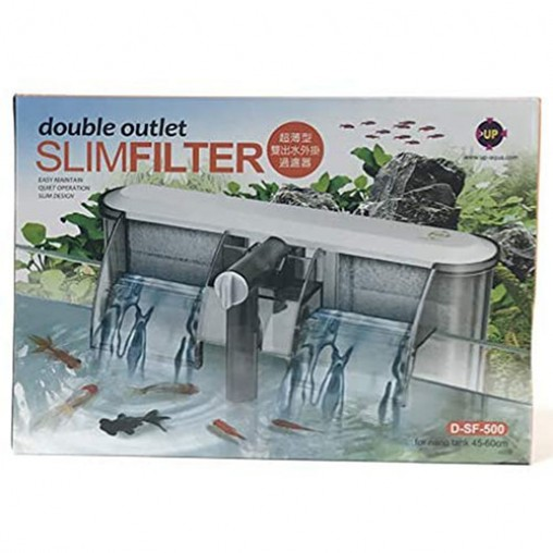 UP D-SF-500 Double Outlet Slim Filter