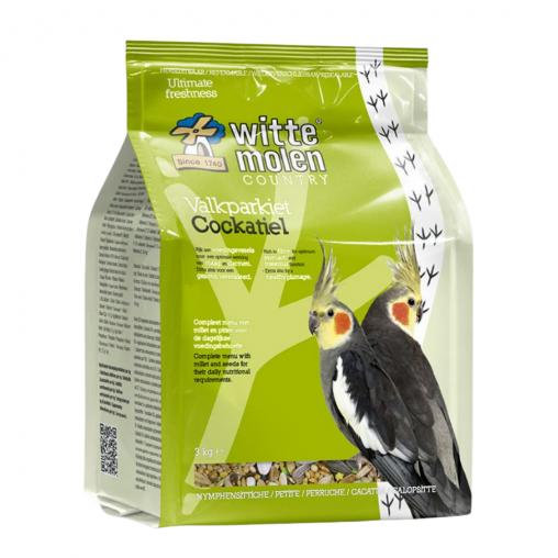 Witte Molen Cockatiel Bird Food 1kg
