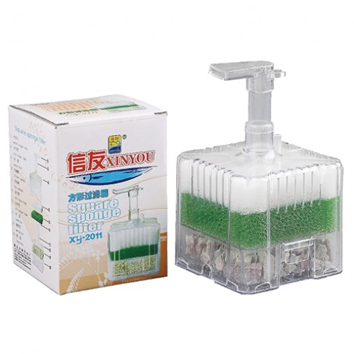 Xin You XY-2011 Square Sponge Filter