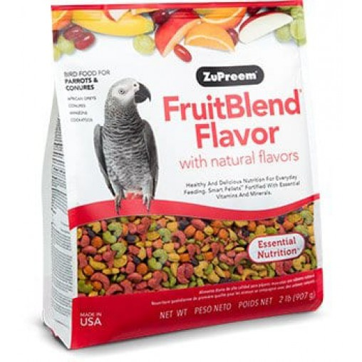 ZuPreem FruitBlend for Parrots and Conures