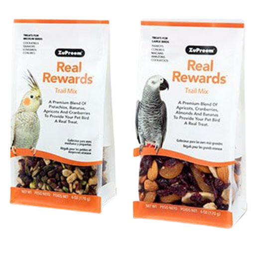ZuPreem Real Rewards Trail Mix Treats (Options Available)
